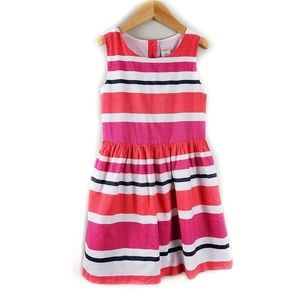 Gymboree Girl's Striped Cotton Dress Size 7